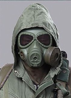 Gas Mask Style full face cool airsoft mask(OD)