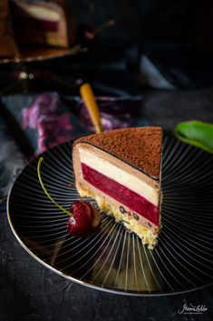 Chef Recipes, Baking Recipes, Patisserie Design, Chocolate Cherry Cake, Around The World Food, Naked Cakes, English Food, Cakes And More, Creative Food