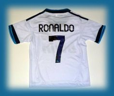 REAL MADRID HOME CRISTIANO RONALDO 7 12/13 FOOTBALL SOCCER KIDS JERSEY 10-11 YEARS by RM. Save 54 Off!. $22.99. REAL MADRID HOME CRISTIANO RONALDO 7 12/13 FOOTBALL SOCCER KIDS JERSEY 10-11 YEARS
