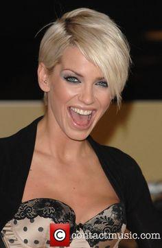 Sarah Harding Short Hair | Sarah Harding Haircut Styles