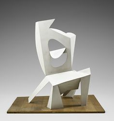 Pablo Picasso (Spanish, 1881–1973) Chair Cannes, 1961 Painted sheet metal 45 1/2 × 45 1/16 × 35 1/16 in. (115.5 × 114.5 × 89 cm) Musée national Picasso–Paris © 2015 Estate of Pablo Picasso/Artists Rights Society (ARS), New York