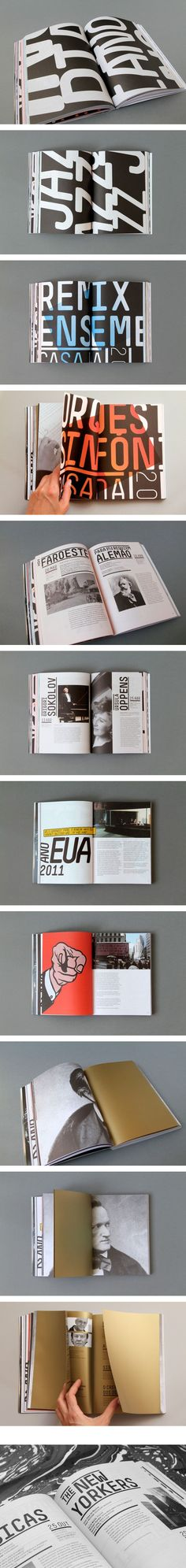 Casa da Música Programme Book Design