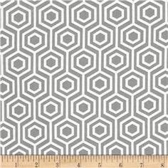 Mint Condition - Hexagons - Grey