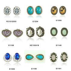 I love big stud earrings. I found these on Aliexpress.com