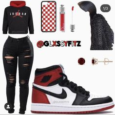 Cute Tomboy Outfits, Baddie Outfits Casual, Swag Outfits For Girls, Cute Outfits For School, Teenage Girl Outfits, Dope Outfits, Trendy Outfits, College Outfits, Casual Teen Fashion