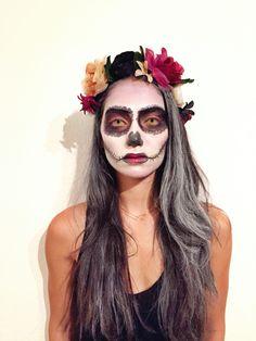 dias des los muertos makeup www.attitude-unique.com