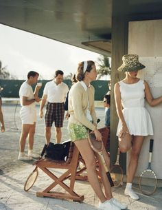 This just keeps getting better: Vintage Tennis Fashion