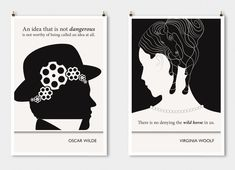 14 Literary Posters That Turn Famous Author's Words Into Art