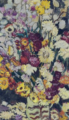 Bouquet of Wild Flowers 1927 by Louis Valtat (Fr 1869–1952)