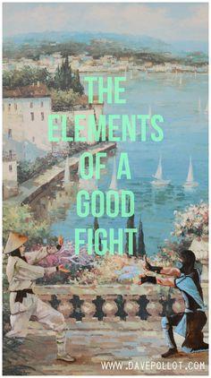 'The Elements of a Good Fight' - Mortal Kombat Parody www.davepollot.com
