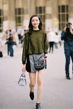 Paris Couture Fashion Week AW 2013....Fei Fei - Vanessa Jackman