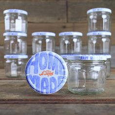 Le Parfait Homemade Canning Jar Replacement Lids Set of 6 - Canning Supplies from Mountain Feed