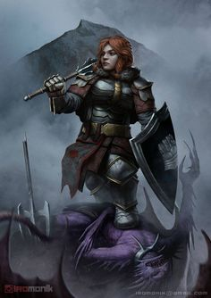 Fantasy Dwarf, Fantasy Warrior, Fantasy Rpg, Dungeons And Dragons Characters, Dnd Characters, Fantasy Characters, Female Characters, Fantasy Character Design, Character Inspiration