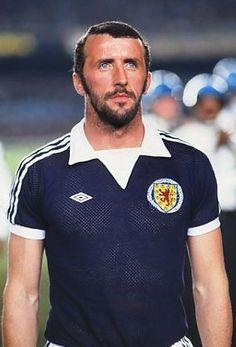 Danny McGrain Scotland 1977