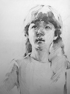 My niece 2 by on DeviantArt Portrait Sketches, Pencil Portrait, Portrait Art, Figure Sketching, Figure Drawing, Sketch Painting, Figure Painting, Pencil Art Drawings, Drawing Sketches
