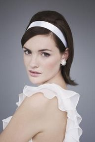 short hair with ribbon - Google Search
