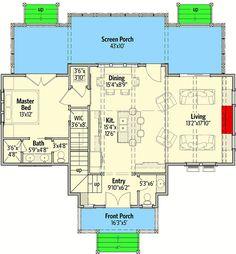 Delightful Cottage House Plan - 130002LLS | Architectural Designs - House Plans