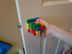 Lego Door Knob: 10 Steps (with Pictures). Lego Door Knob: A fun and simply project to give a kids room their own personal door knob. project time: plus glue dry time