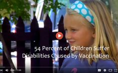 54 Percent of Children Suffer Disabilities Caused by Vaccination
