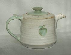 teapot with apple  Kajsa Leijström