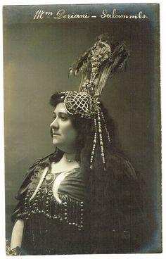Miss Doriani as Salammbo