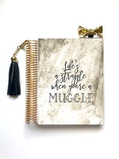The Struggle - Wizard Life Collection Planner Cover – Stylish Planners Harry Potter Planner, Erin Condren, Bff Birthday Gift, Harry Potter Drawings, Stationery, Notebook Ideas, Sketch Books, Stylish, Book Covers
