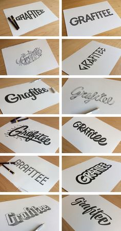 Grafitee - Branding on Behance