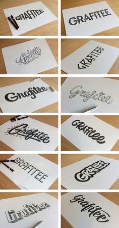 Grafitee - Branding on Behance