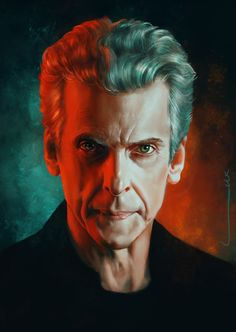 The 12th Doctor - ''Glare'' by luluha (deviantART) -- Doctor Who Series 8 (Doctor Who - BBC Series)  source: http://luluha.deviantart.com/art/Glare-501274635 Featured in: doctorwhotv Photo Gallery - ''Weird and Wonderful''  link: http://www.doctorwhotv.co.uk/weird-and-wonderful-60-70555.htm