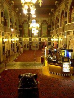 The Oriental Theater lobby