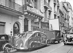 1930s South American streamlined truck