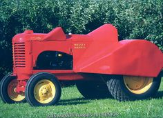 """1946 Massey Harris 101 Senior -   Basically a """"44"""" equipped with a couling for work in orchards"""