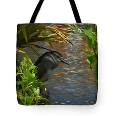 Tote Bags - Posed and Waiting Tote Bag by Pamela Walton