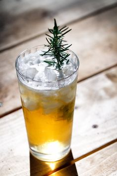 Chopped host, Ted Allen loves this Rosemary Julip Springtime cocktail
