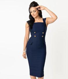 Vintage Dresses - Retro & Vintage-Inspired Dresses – Unique Vintage Vintage Inspired Dresses, Vintage Dresses, Vintage Outfits, Pin Up Outfits, Dress Outfits, 1960s Fashion, Vintage Fashion, Unique Vintage, Vintage Ladies