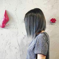 #BLUESHADES #HAIR