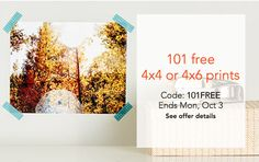 Shutterfly Canada Offers: 101 FREE 44 or 46 Prints & More Offers http://www.lavahotdeals.com/ca/cheap/shutterfly-canada-offers-101-free-44-46-prints/122211
