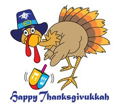 Happy Thanksgivukkah from Birthright Israel!