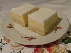 Hungarian Cake, Cheesecake, Vanilla Cake, Goodies, Sweets, Baking, Hungary, White Chocolate, Baking Ideas