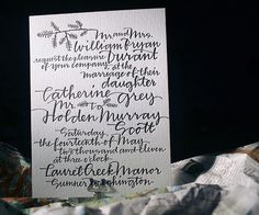 gorgeous invites for a fall farm wedding...
