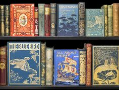 turnbullrarebooks:  I love Victorian publishers' bindings. So here is another view of the selection put together for a blog on the subject.Read blog here.