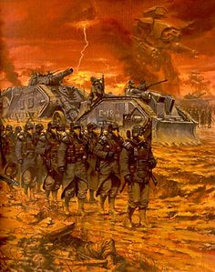 swordofsteel: Death Korps of Krieg - Warhammer 40k artwork