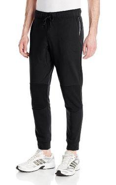 adidas Originals Men's Sport Luxe Moto Jogger Pant, XX-Large, Black ❤ Adult adidas originals