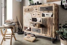 Kommode, ca. BHT: 115/103/36cm Retro Chic, Cabinet, Rugs, Storage, Menu, Stuff To Buy, Furniture, Home Decor, Vintage Industrial Furniture