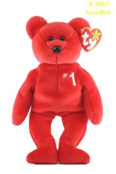 number 1 bear Beanie Babies Worth Money 88772d91002