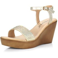 9243eeb280b9dc Elegant open toe sandals with rhinestones. Size Chest Back Length Front  Length Shoulder.