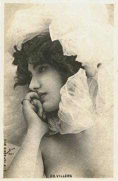 Melle Devillers, Paris,  1900's ~ Renée Devillers is a French actress born 9 October 1902 in Paris ( France ), died 5 August 2000 in Lagny-sur-Marne ( France ).