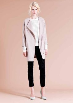 Warehouse AW12 7/8 trousers and court shoes - my favourite look right now