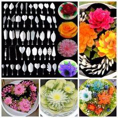 Nové 5 štýl Amazing želatínové umenia NÁSTROJE Gracilaria Jelly Jello 3D Tortu náradia 10 ks / set # 92799 na Aliexpress.com   Alibaba Group