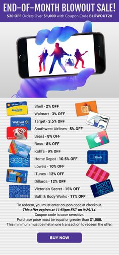 295 Best Gift Card Exchange images in 2013 | Discount gift cards